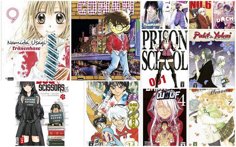 Manga Neuerscheinungen Deutschland April 2015: EMA