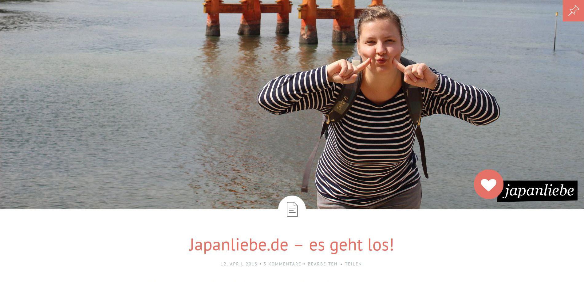 japanliebe.de feiert Einjähriges
