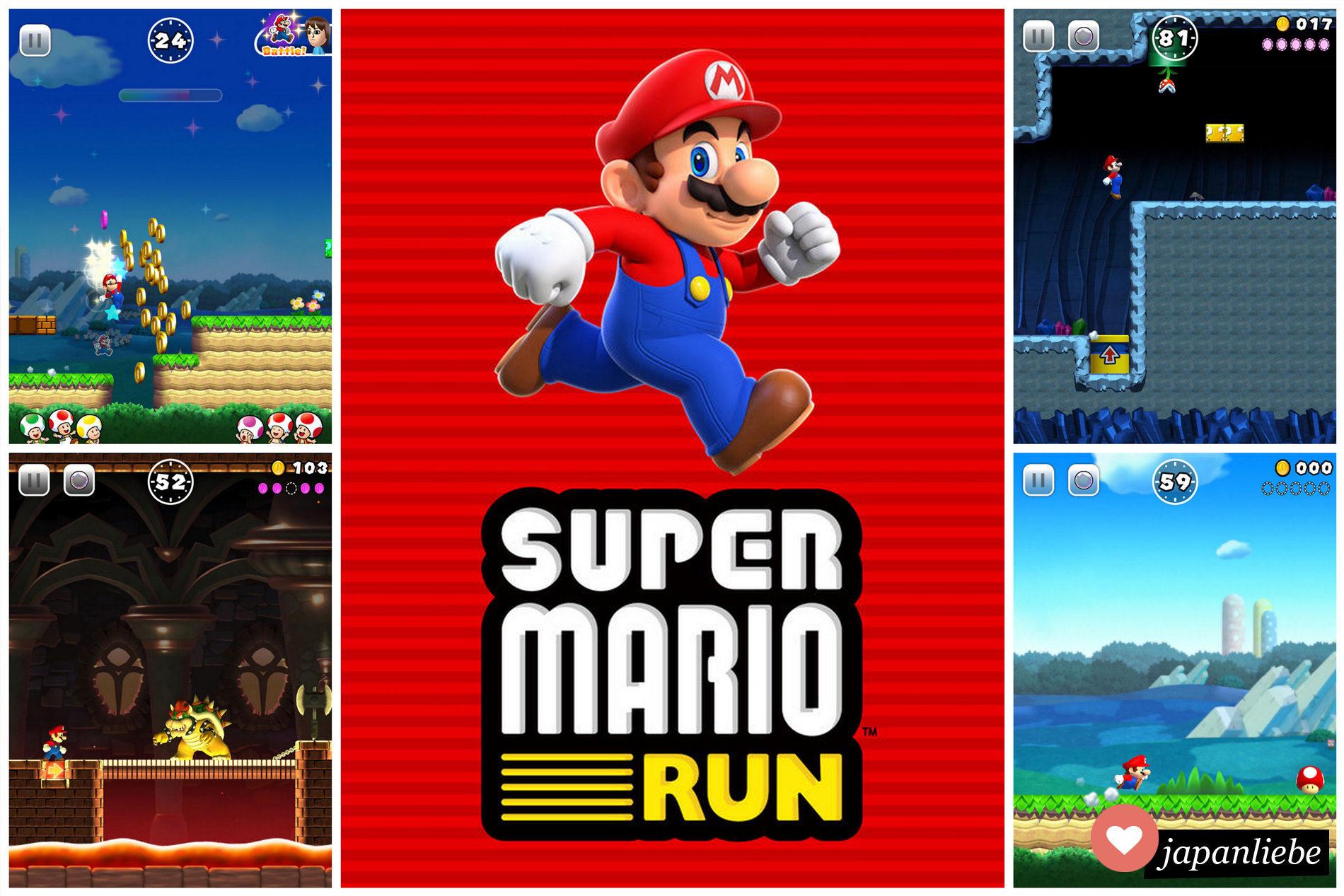 Nintendo bringt Super Mario Run für iPhone und iPad