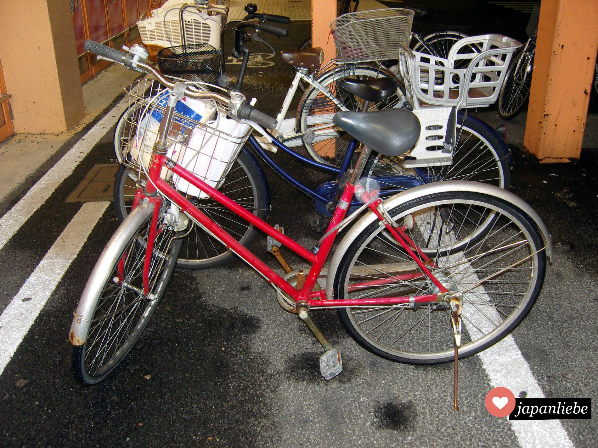 """""""Jimmy"""", mein gebrauchtes Fahrrad in Japan."""