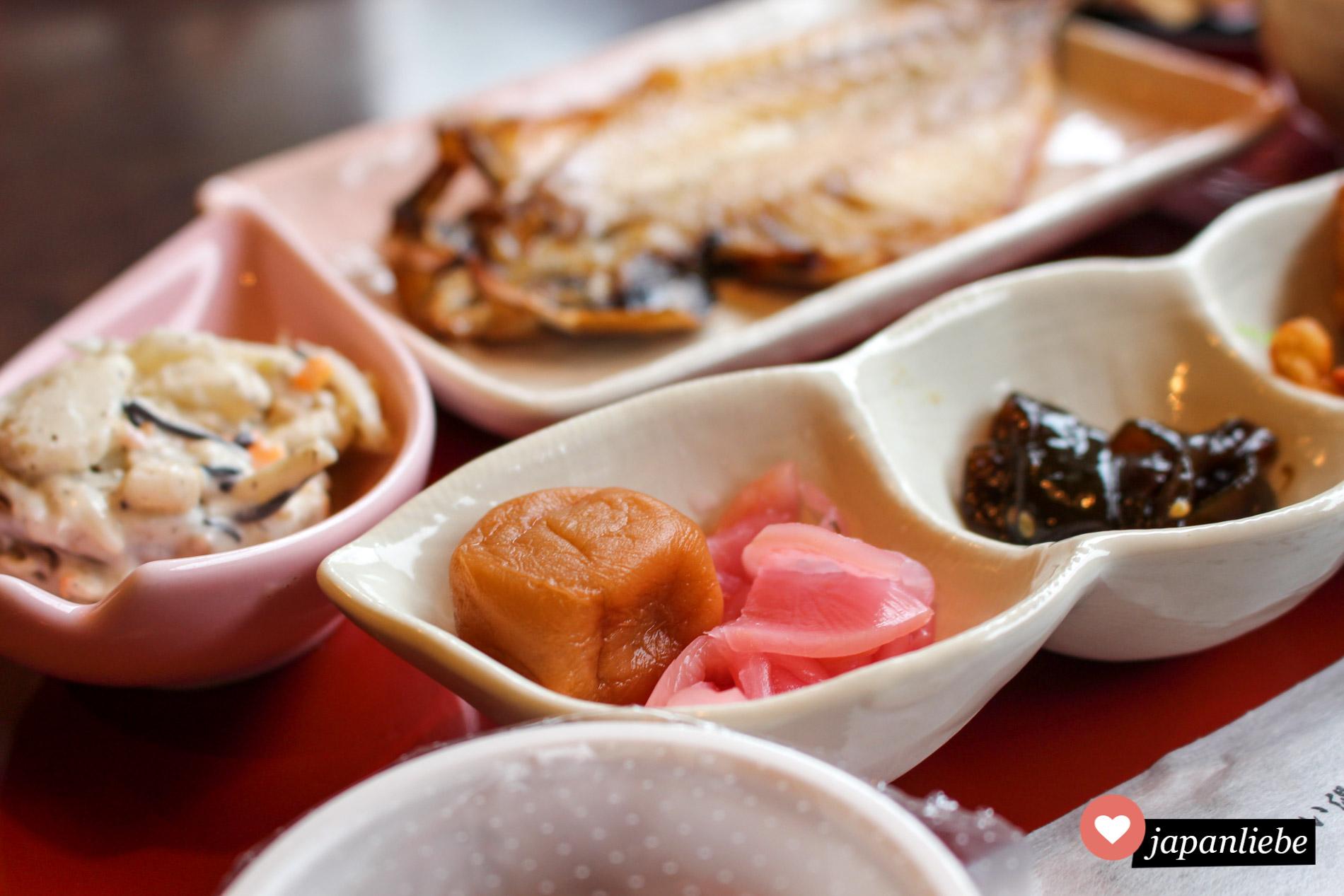 Die leckerste Variante traditionell japanischen Frühstücks gibt es in ryokan-Gasthäusern.