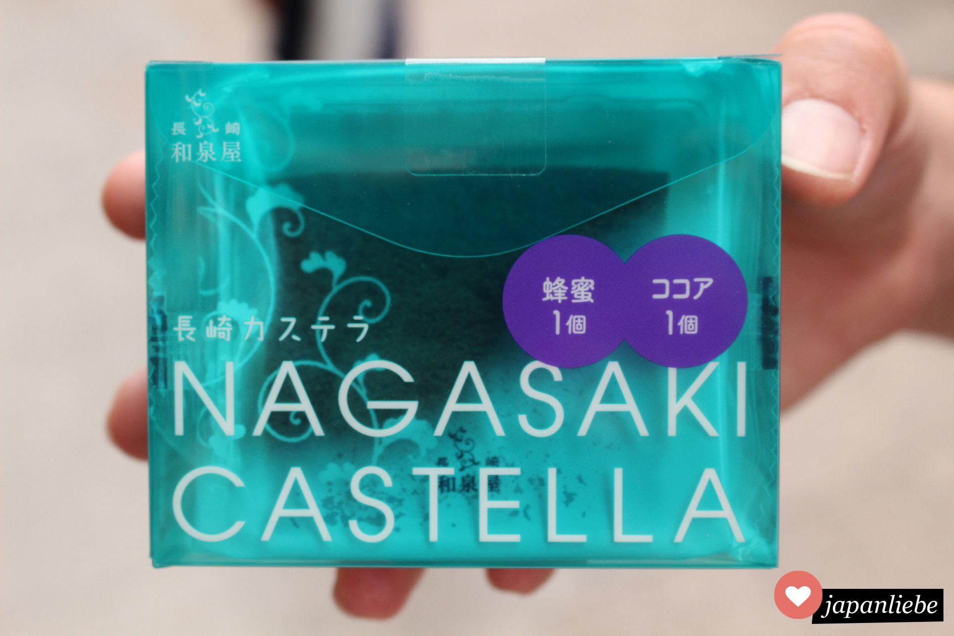 Nagasakis süße Spezialität: Castella Kuchen.