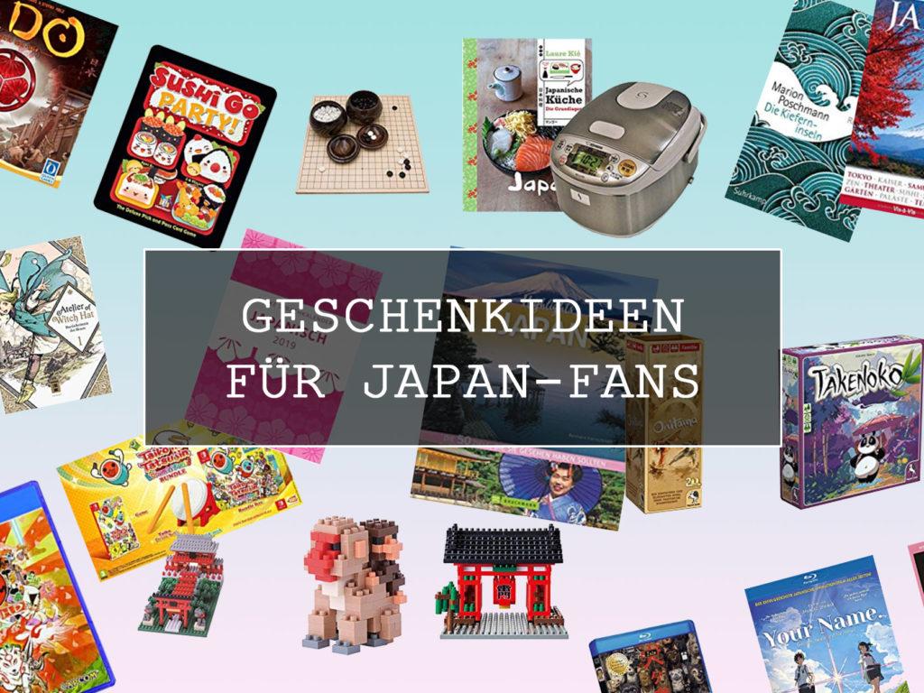 Geschenkideen für Japan-Fans.