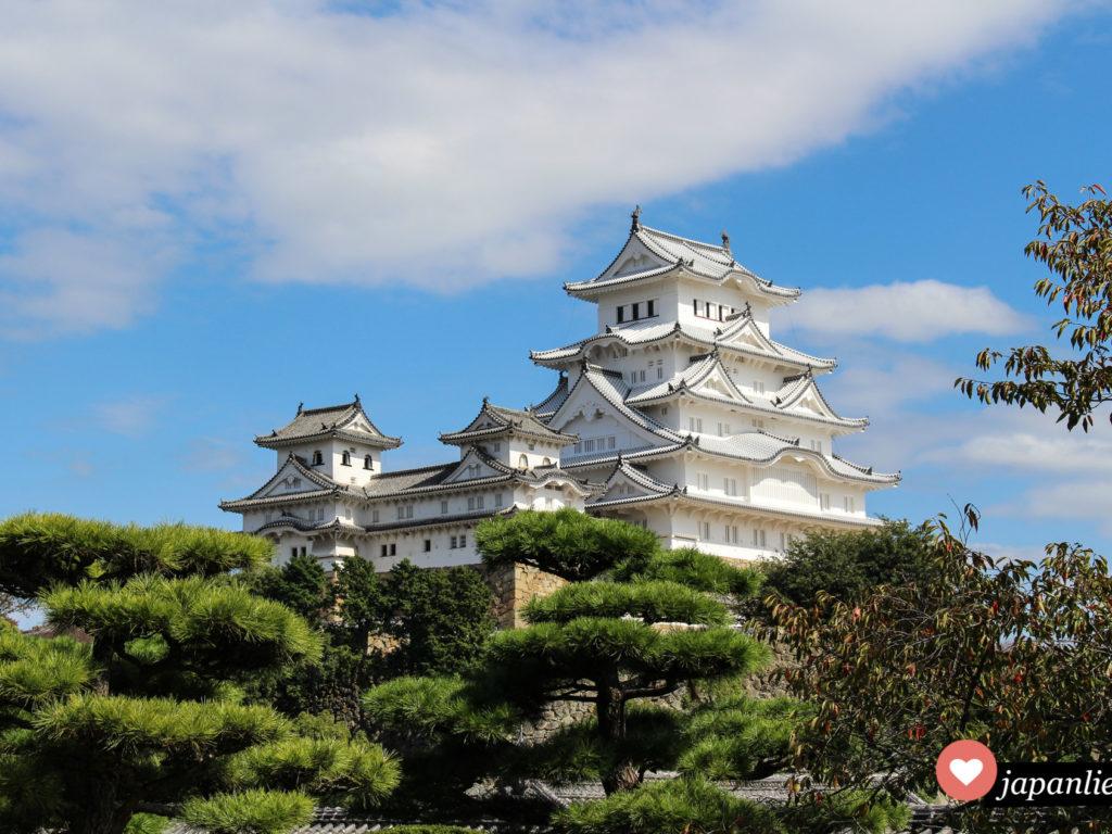 Japans schönste Burg und UNESCO Weltkulturerbe: Himeji.
