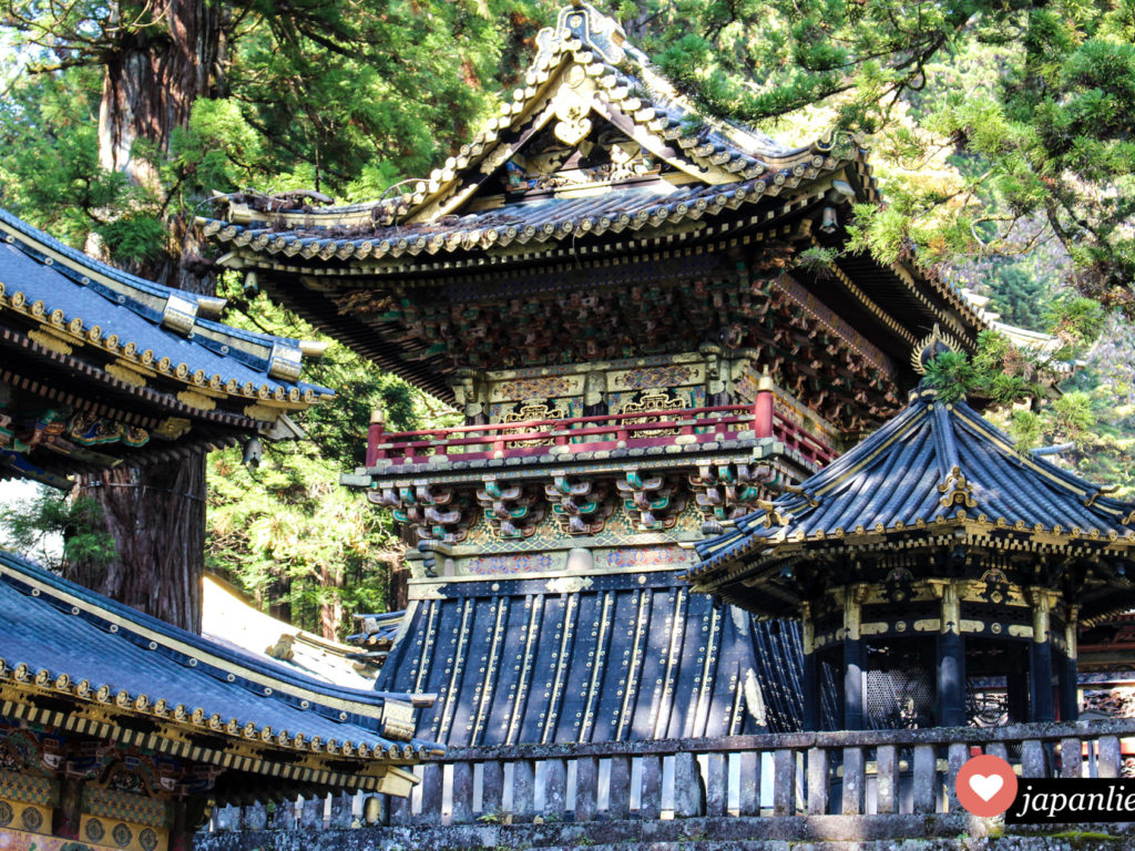 Der Toshogu Schrein in Nikkō – Japans prachtvollster Schrein.