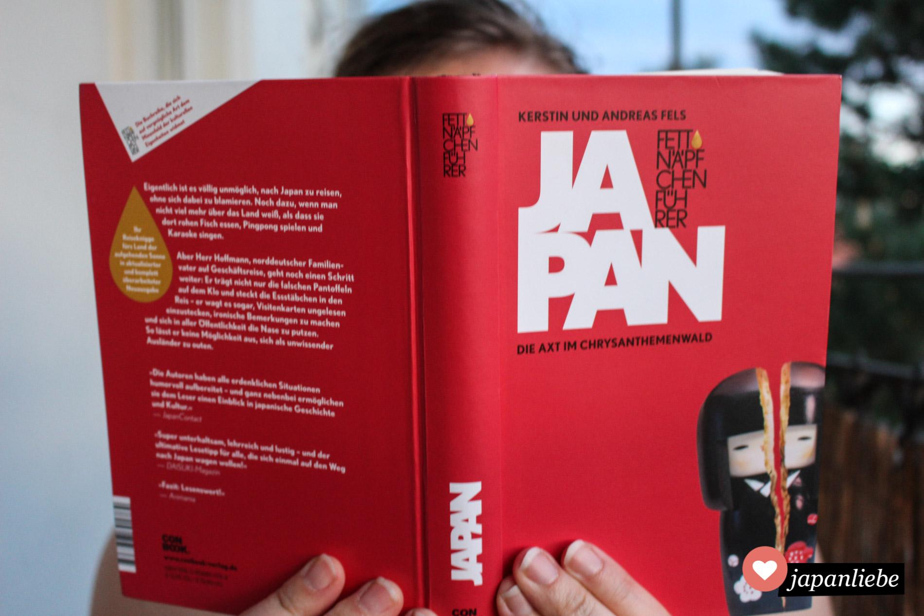 """So richtig zum Schmökern und auf Japan freuen: der """"Fettnäpfchenführer Japan"""" von Kerstin und Andreas Fels"""