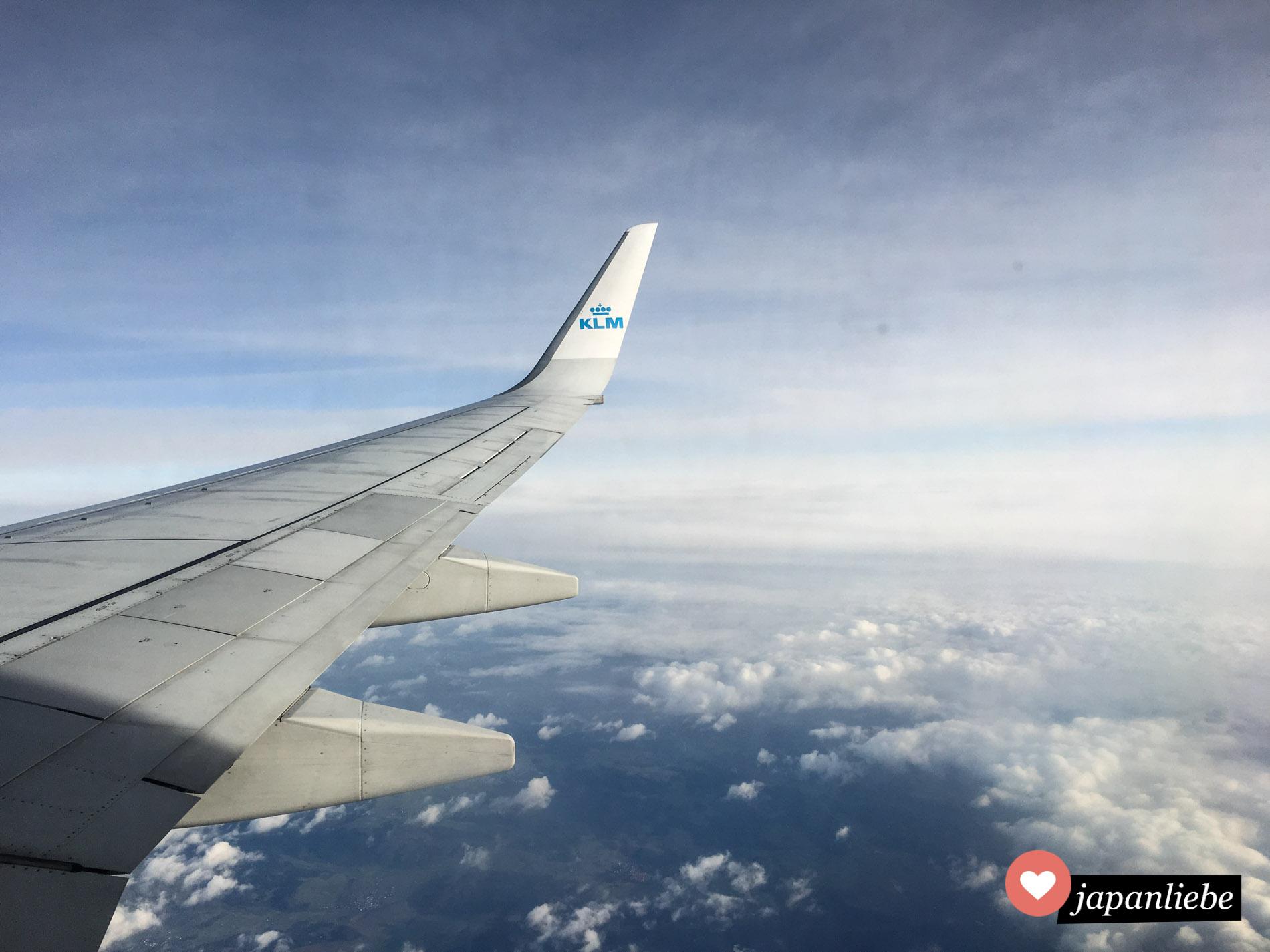 Meine Lieblingsfluggesellschaft wegen dem netten Service: KLM.