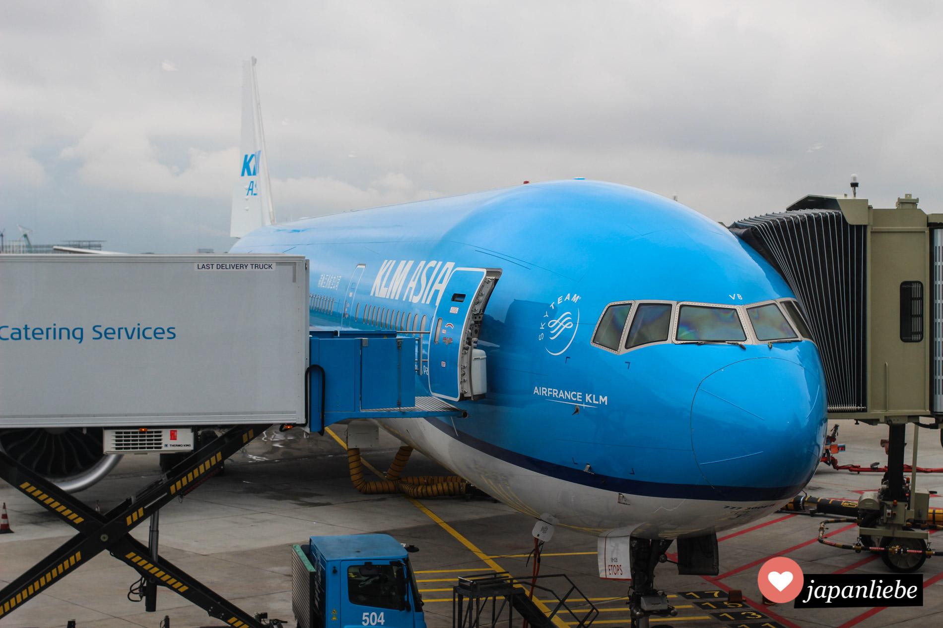 Kein Grund für Flugangst: Langstreckenflüge von Europa nach Japan werden meist mit neuen Maschinen ausgeführt.