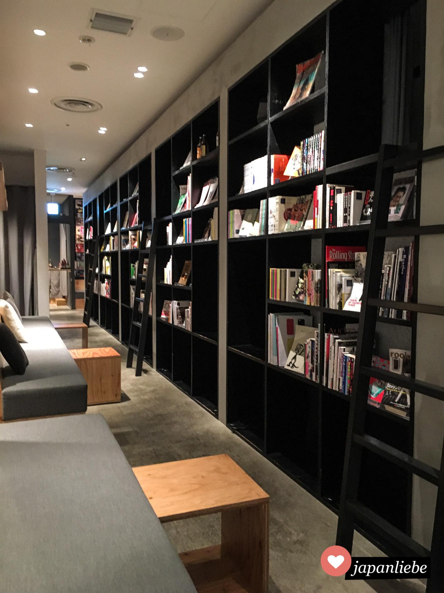 """Das """"Book & Bed Tokyo"""" sieht gewollt stylisch aus. Die meisten Besucher schießen eine Menge Fotos für Instagram."""