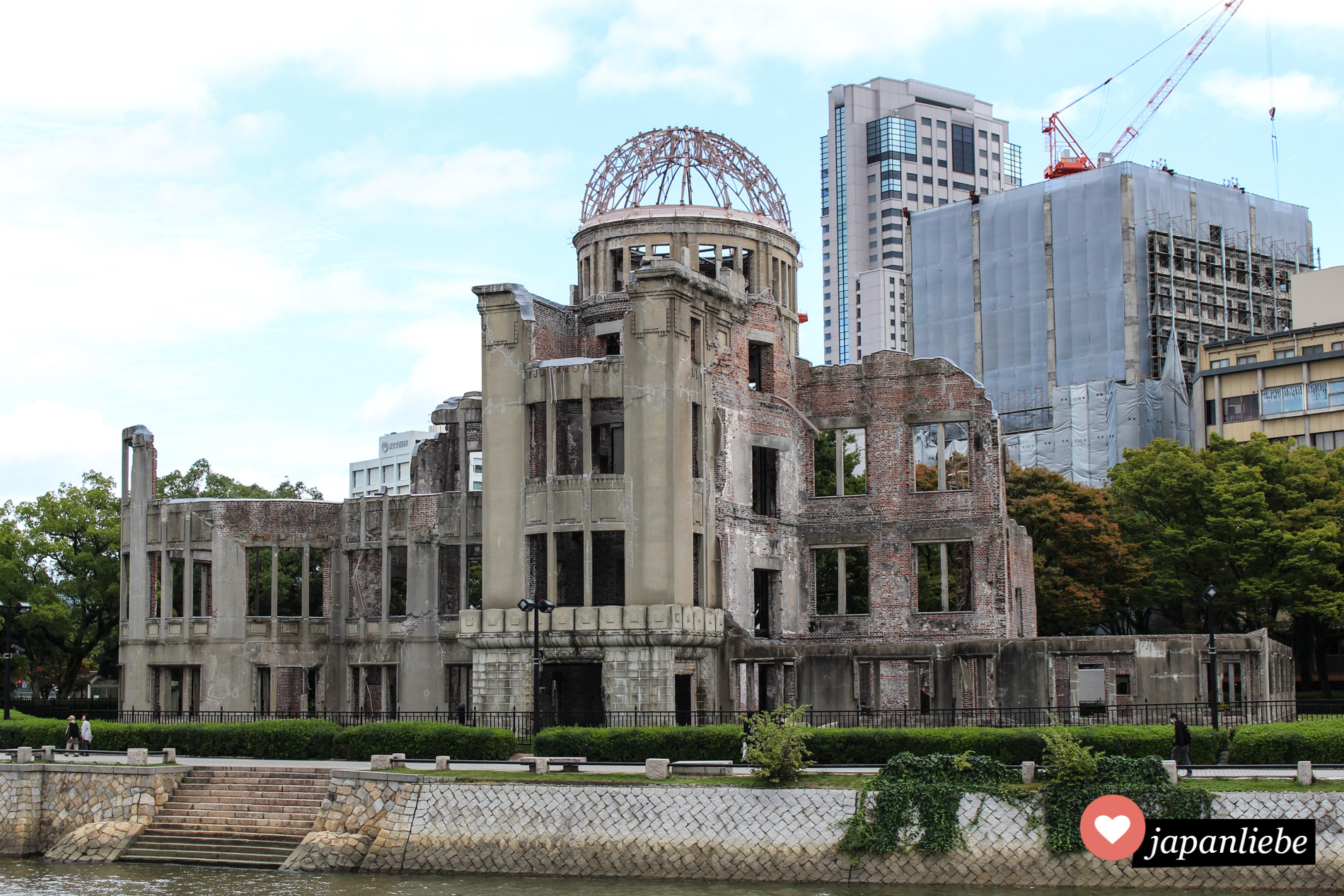 Trauriges Mahnmal: der A-Bomb-Dome in Hiroshima