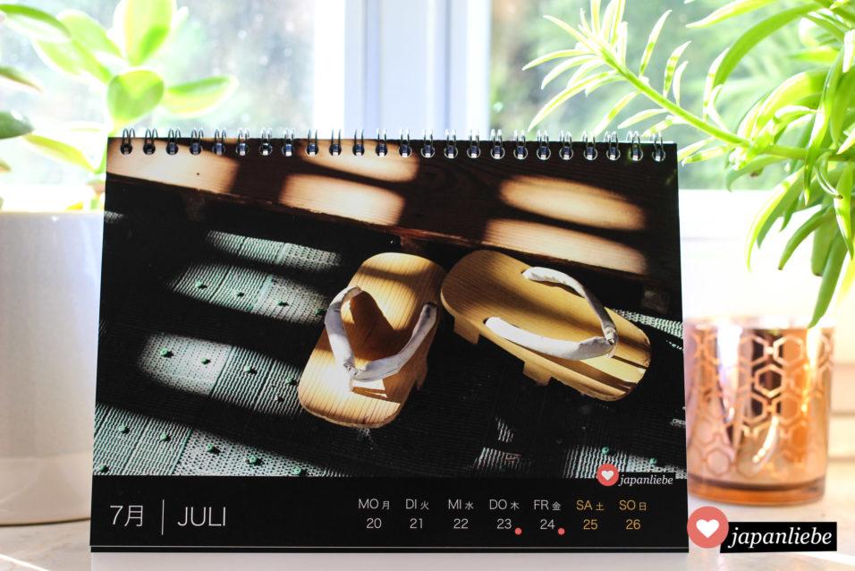 Japan Tisch-Wochenkalender 2020 Juli