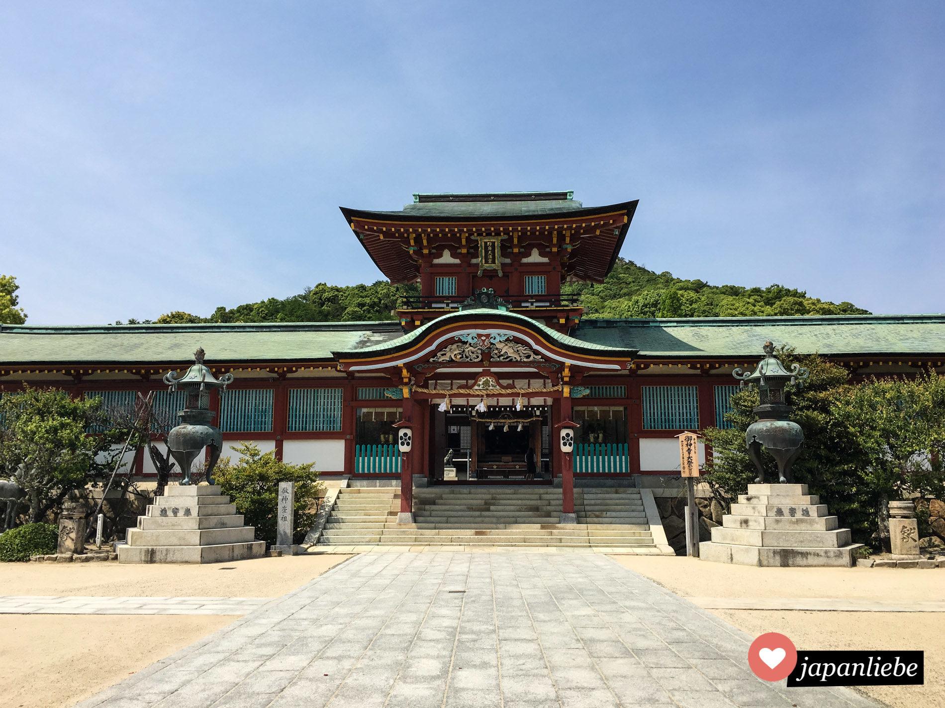 Der Tenman-gu Schrein in Hōfu.