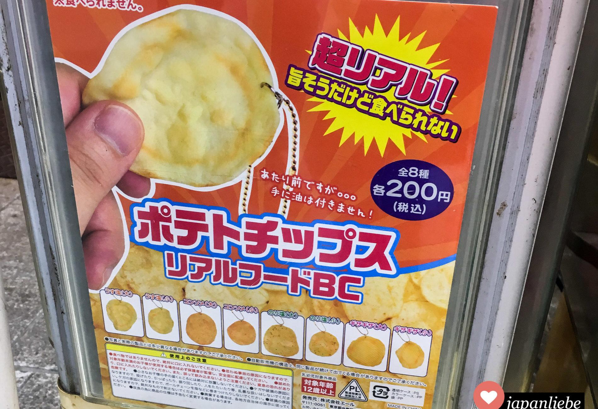 Gashapon: Kartoffelchips