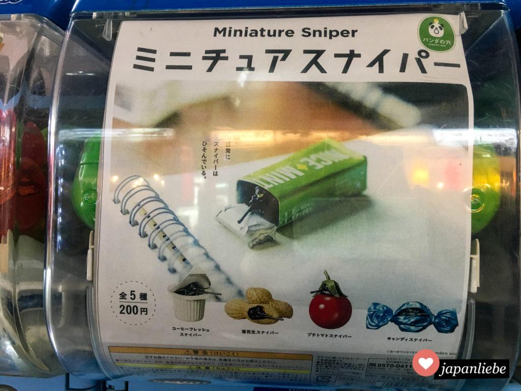 Gashapon: Miniatur-Sniper