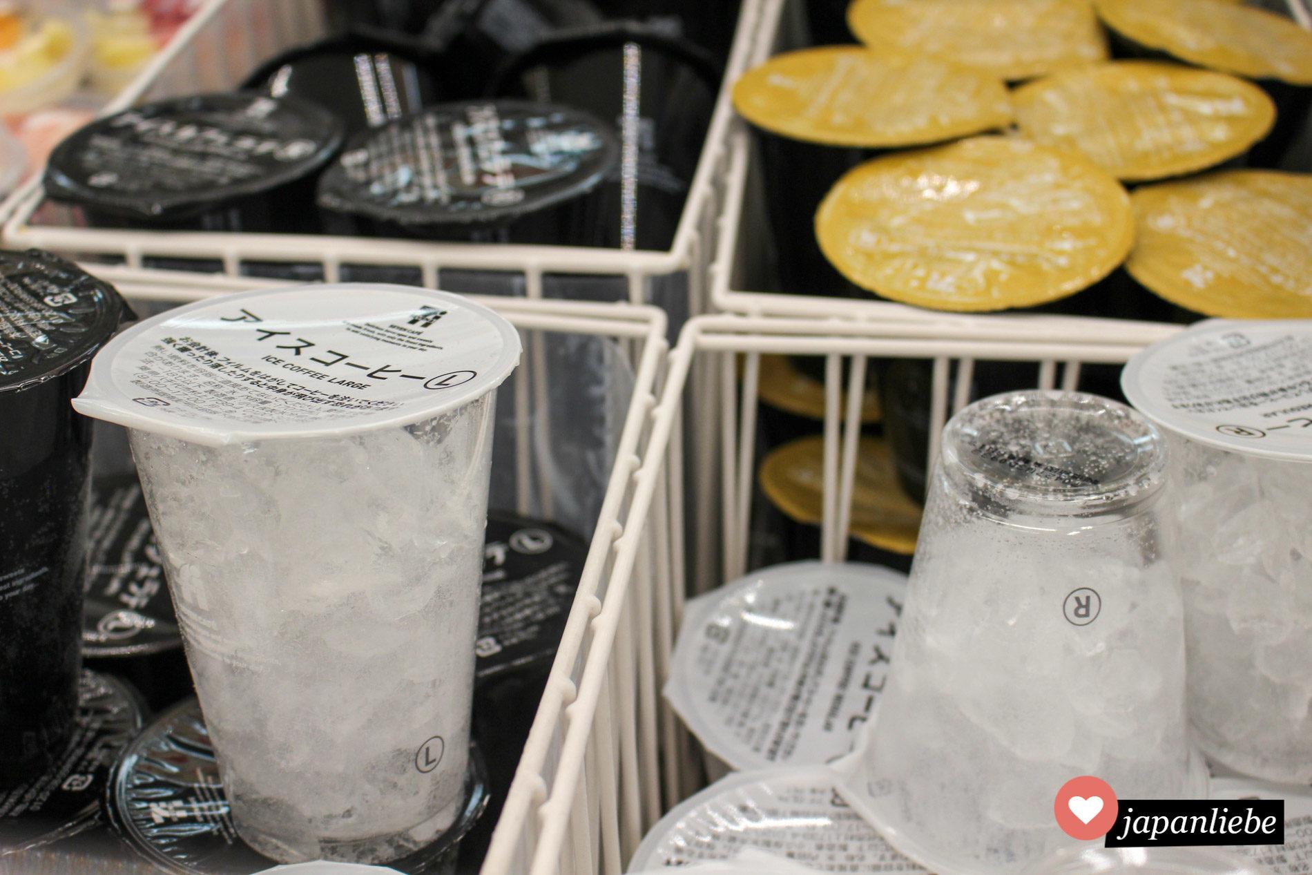 Sehr populär im japanischen Sommer: Kaffee auf Eis.