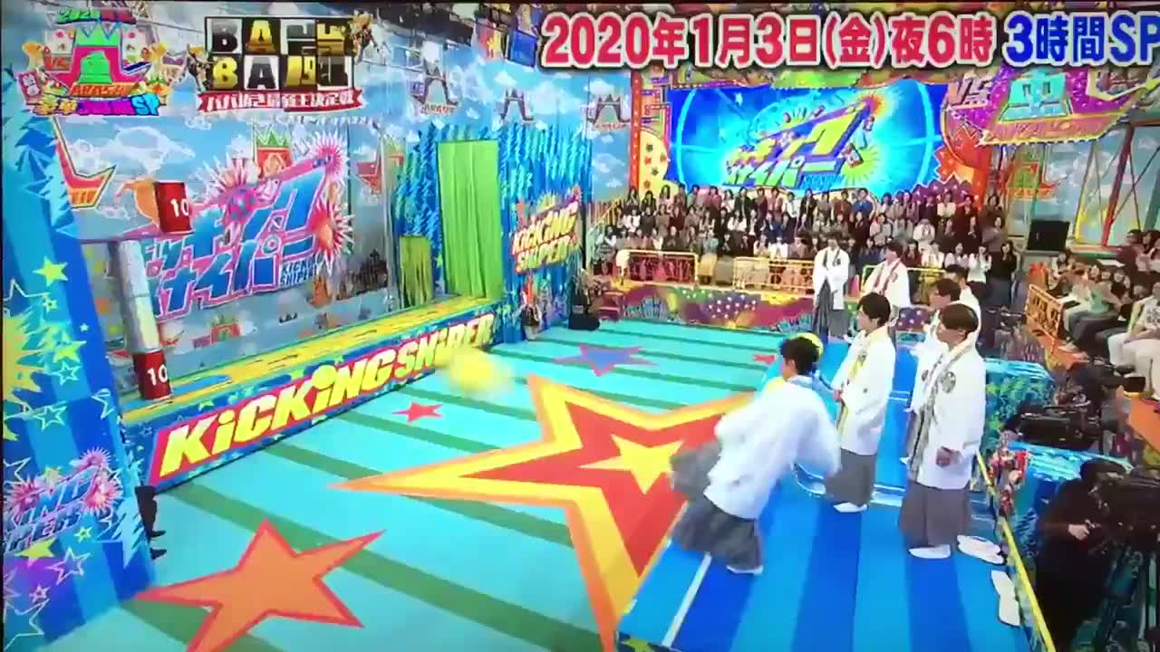 "Anfang 2020 kam ein dreistündiges TV-Sepcial der Kultsendung ""VS Arashi""."