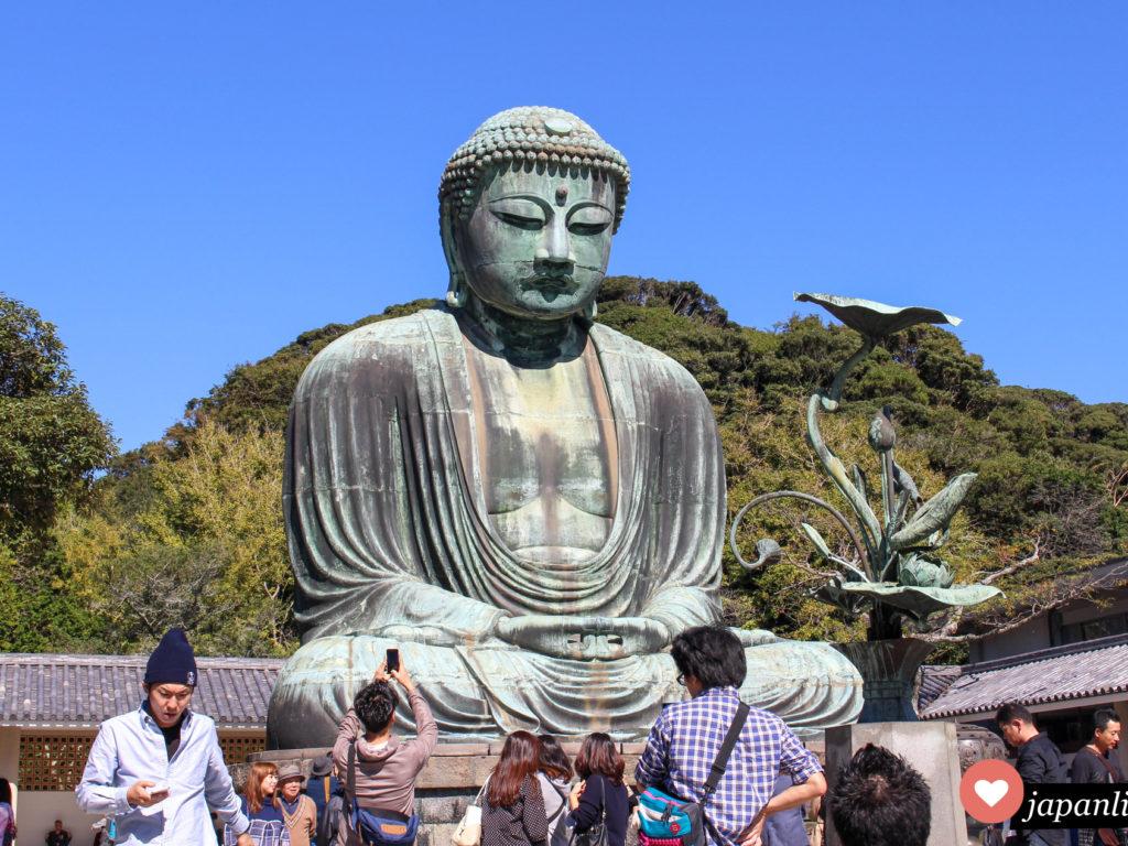Für den großen Buddha aus Bronze ist Kamakura weltberühmt.