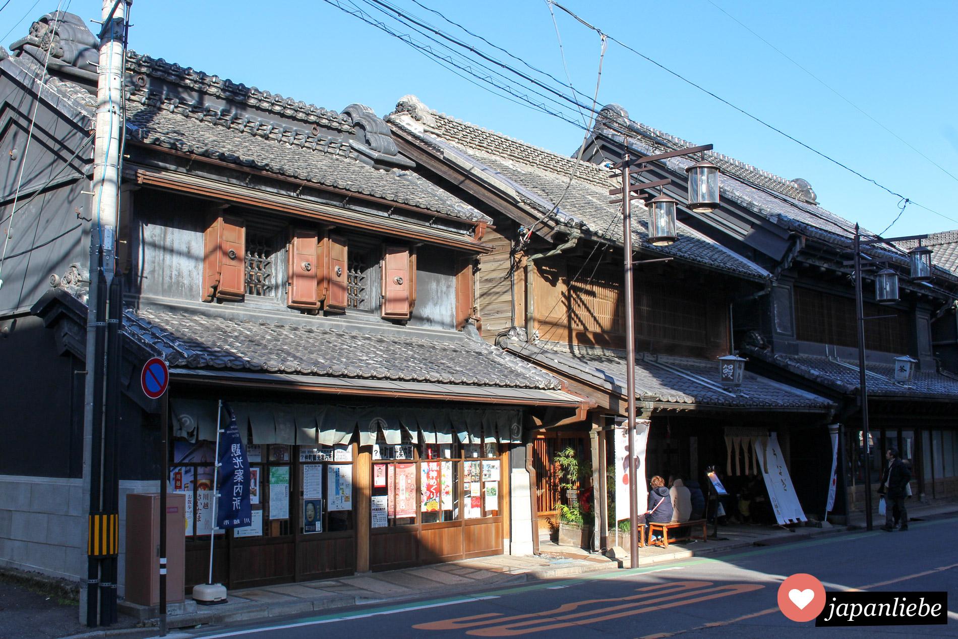 Kawagoe gibt an vielen Ecken EInblicke, wie Japan früher aussah.