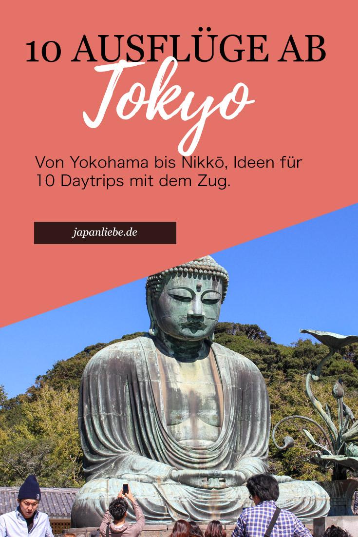 10 Tagesausflüge von Tōkyō aus
