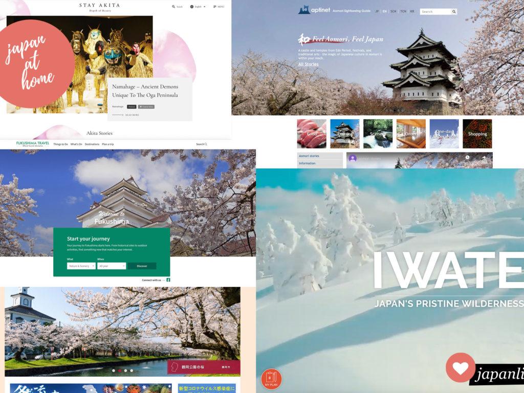 Japanische Präfekturen im Netz – Hokkaidō & Tōhoku