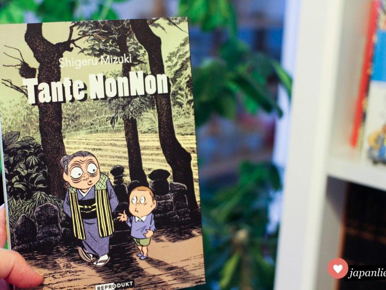 """""""Tante NonNon"""" von Shigeru Mizuki ist 2019 neu im Reprodukt Verlag erschienen."""