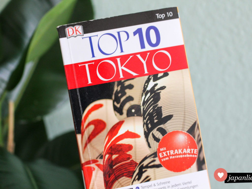 """Der """"Tokyo Top 10"""" Reiseführer von Dorling Kindersley."""