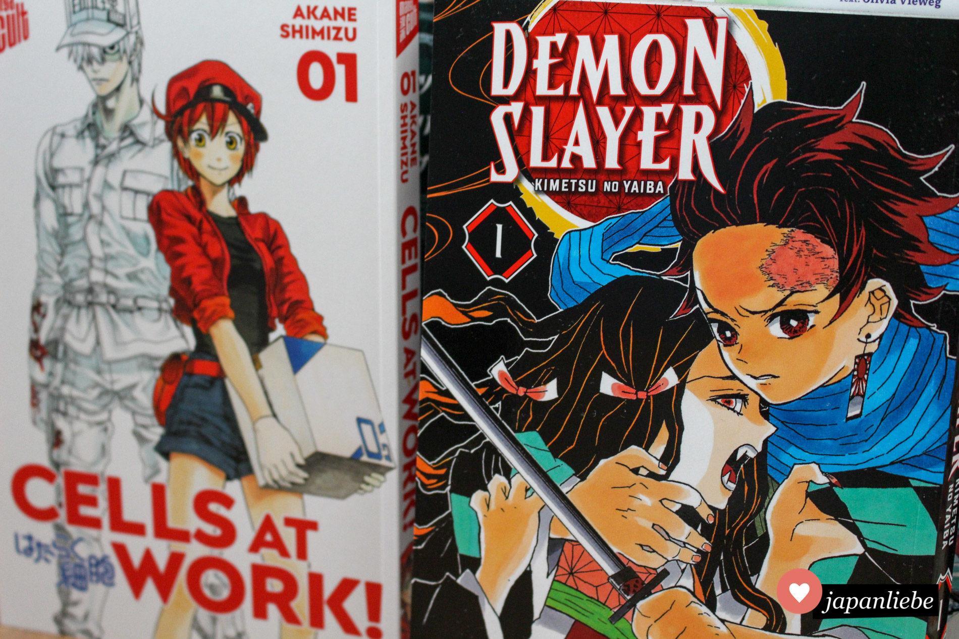 """""""Cells at Work!"""" und """"Demon Slayer"""" Band 1"""