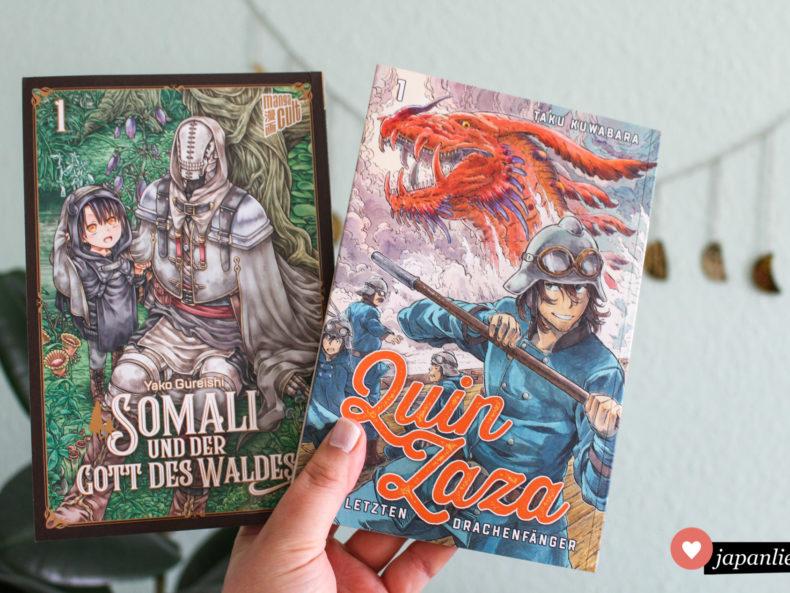 """""""Somali und der Gott des Waldes"""" und """"Quin Zaza"""" Band 1"""