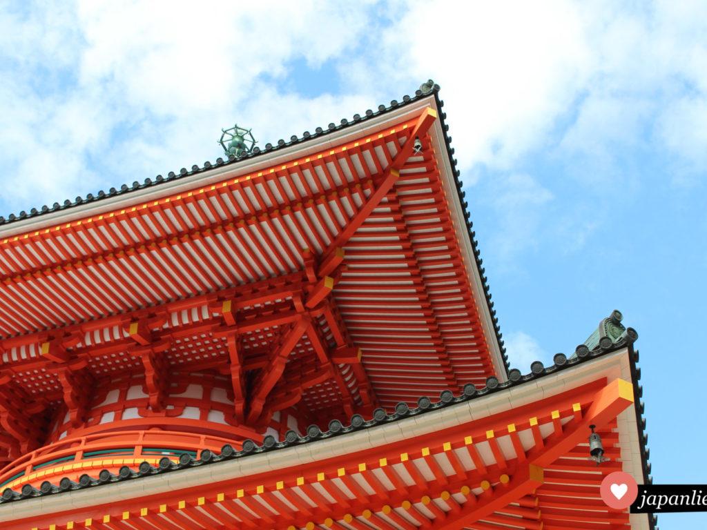 Eine Pagode der vielen heiligen Stätten auf dem Berg Koya-san.