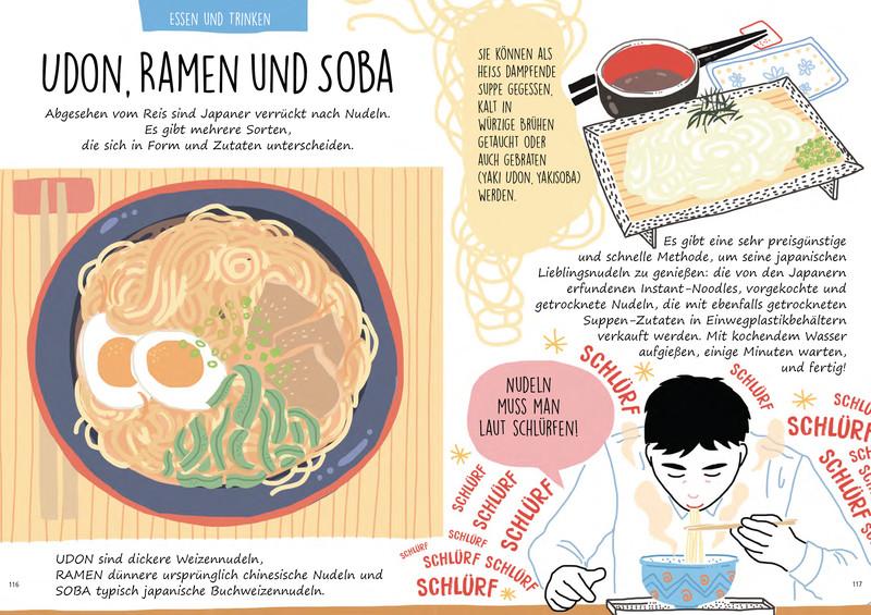 """Blick ins Buch """"Japan. Der illustrierte Guide"""": Udon, Ramen und Soba"""