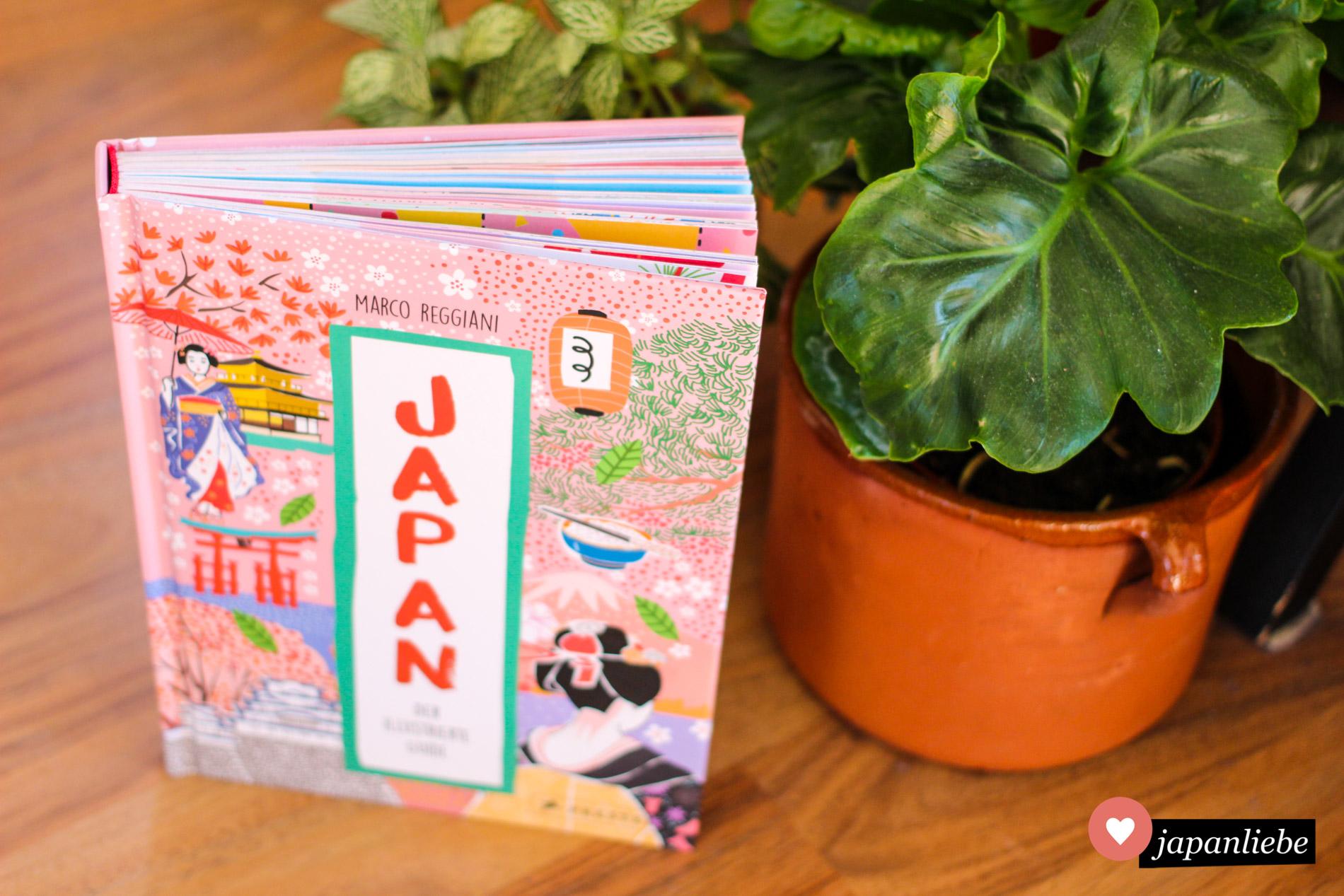 """Das Buch """"Japan. Der illustrierte Guide"""" ist in jeder Hinsicht ein echter Hingucker, sowohl innen wie außen."""