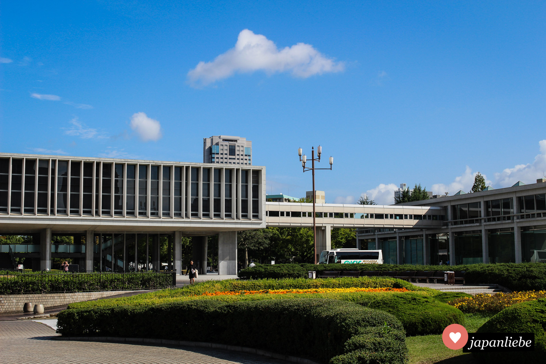 Das Friedensmuseum Hiroshima wurde unter der Federführung von Architekt Kenzo Tange entworfen.