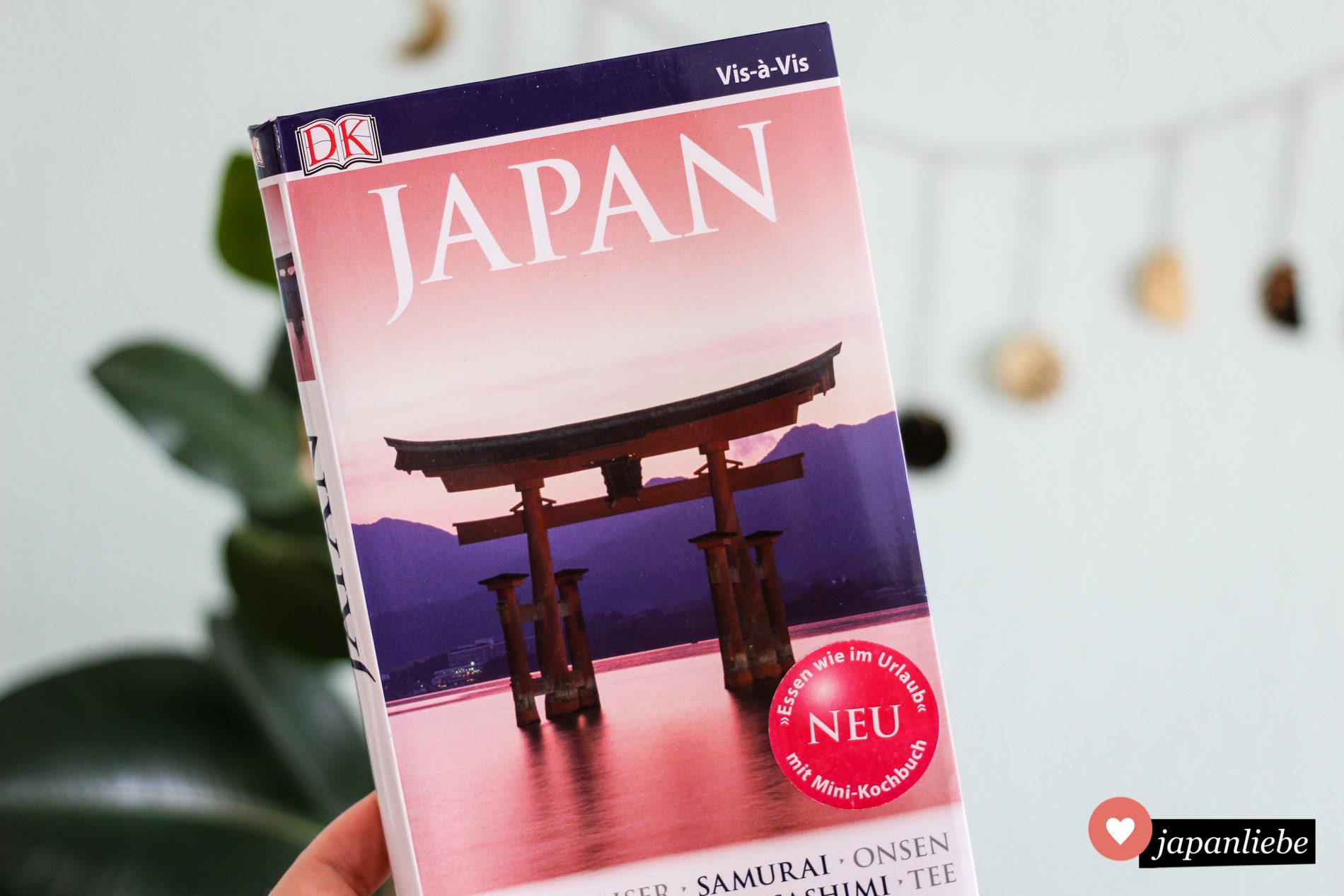 Der Vis-à-Vis Japan Reiseführer von DK.