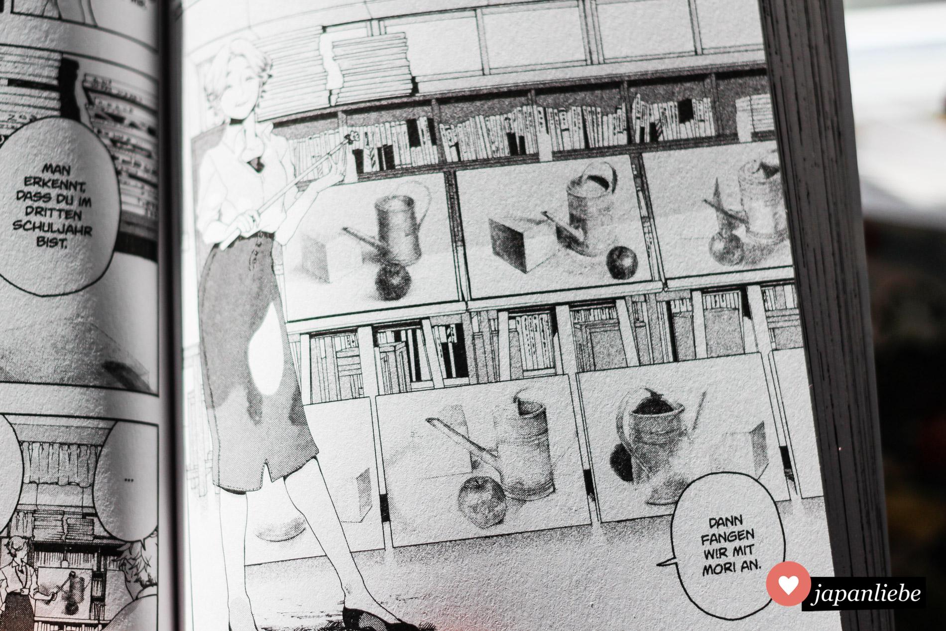 """Unterscheidliche Künstler leisteten ihren Beitrag zu Tsubasa Yamaguchis Manaserie """"Blue Period""""."""