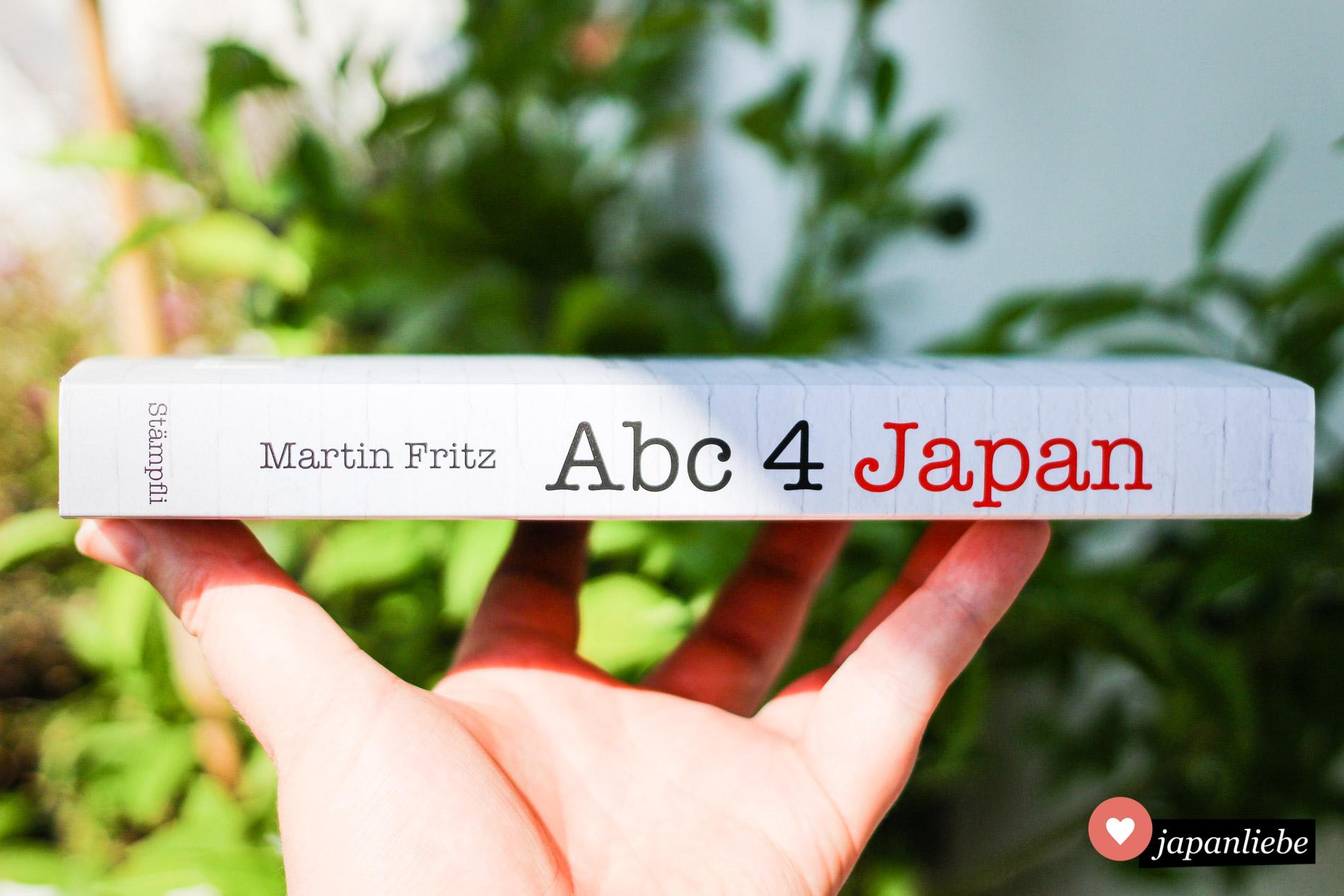 """Mehr als 300 Themen behandelt """"Abc 4 Japan – Ein Kulturguide"""" von Martin Fritz."""