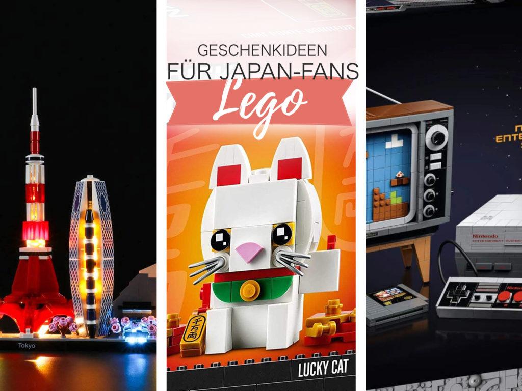 Inspiration für Weihnachten 2020: Geschenkideen für Japan- und LEGO-Fans.