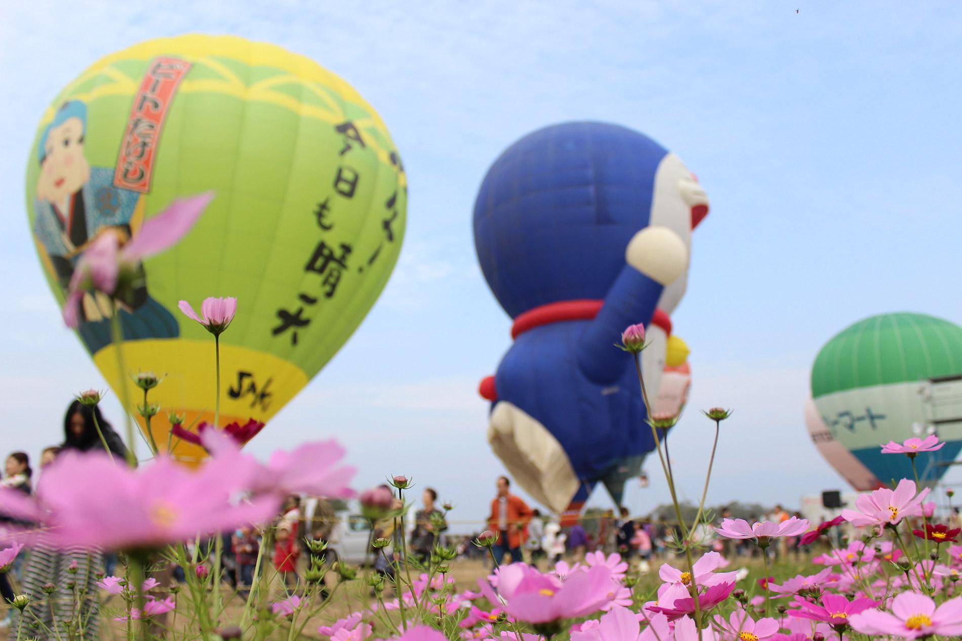 ein Traum für Instagrammer: das Saga Balloon Festival. (Foto: zaimoku_woodpile auf flickr https://flic.kr/p/hbF5QP CC BY 2.0)