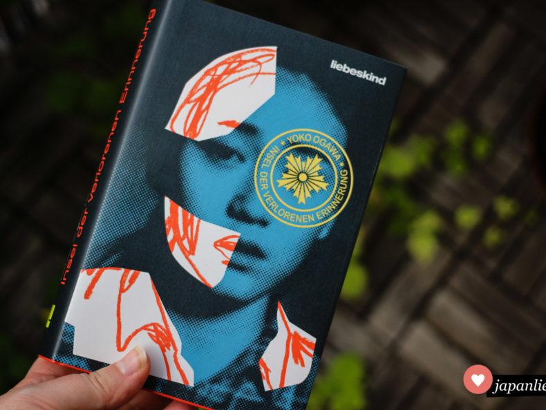 """""""Insel der verlorenen Erinnerung"""" von Yōko Ogawa, erschienen im Liebeskind Verlag."""