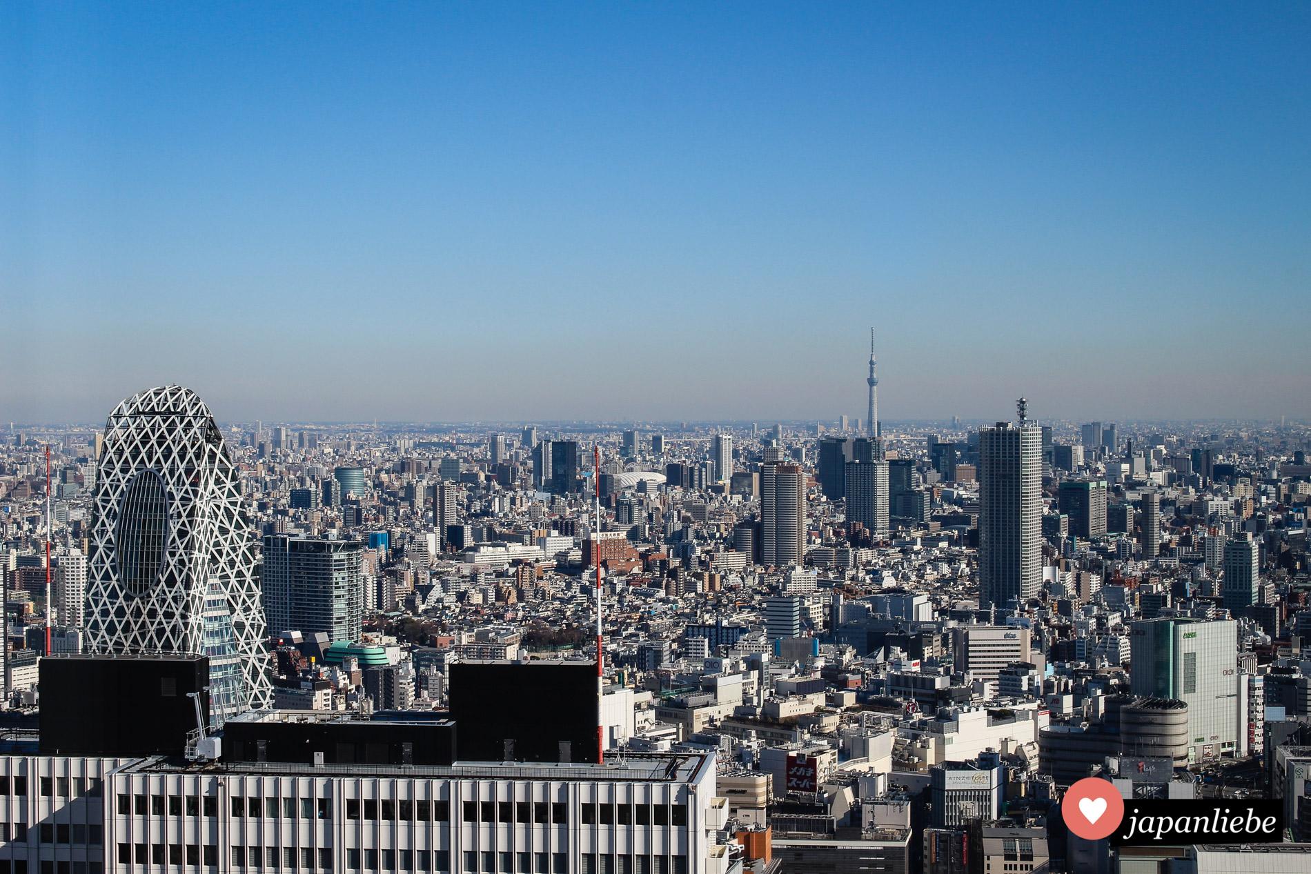 Blick auf den Tōkyō Skytree.