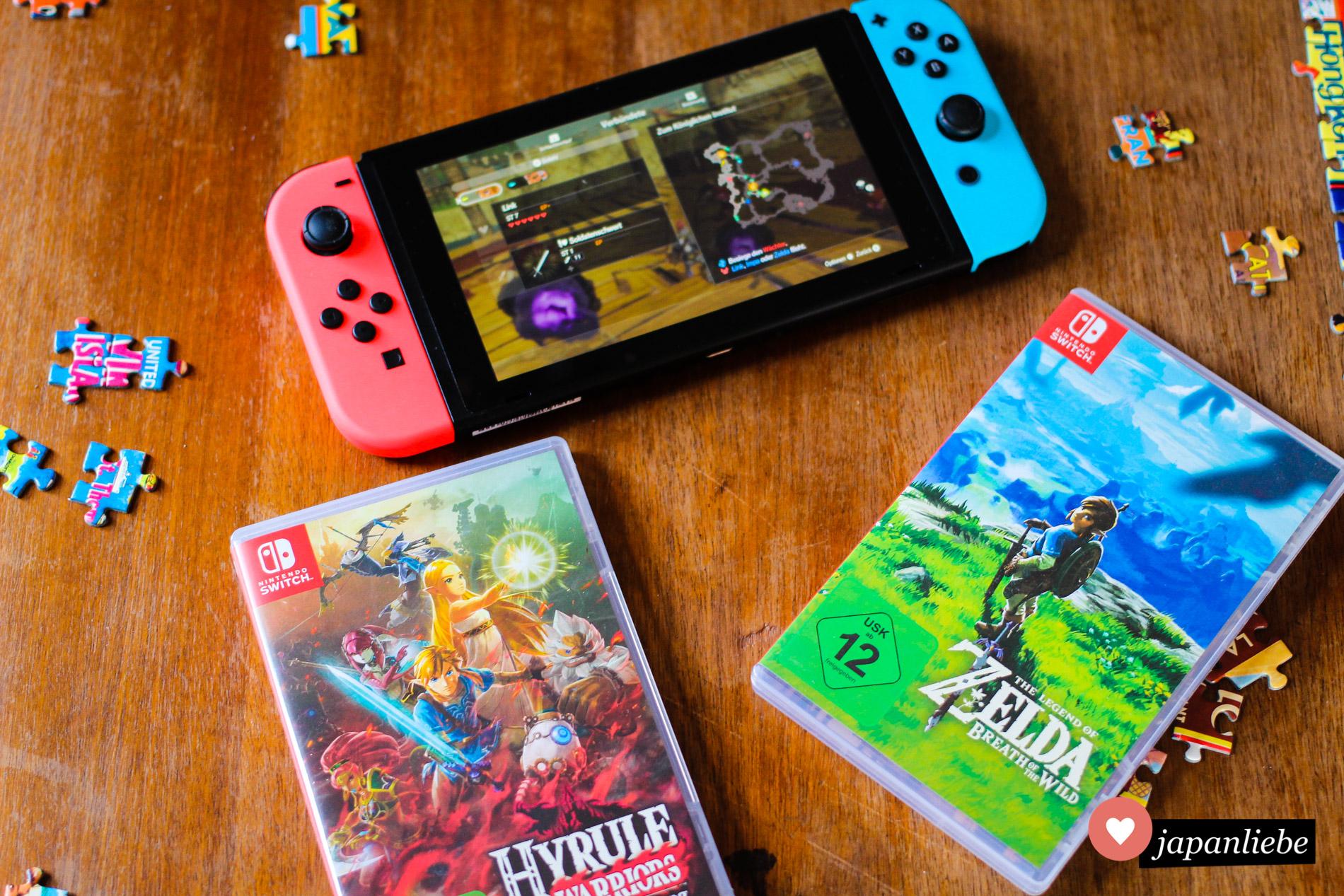 """Meine ersten Zelda-Abenteuer auf der Switch mit """"Breath of the Wild"""" und """"Hyrule Warriors – Zeit der Verheerung"""""""