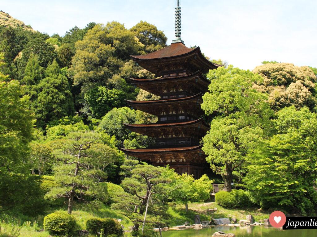 Ein der schönsten des Landes: die Pagode auf dem Gelände des Rurikō-ji-Tempels in Yamaguchi.