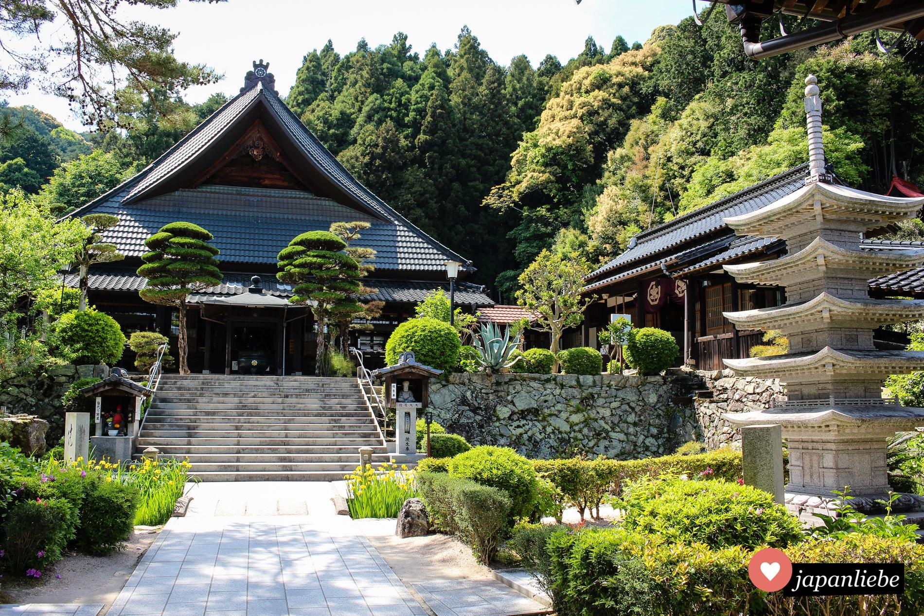 Der Rurikō-ji-Tempel in Yamaguchi.