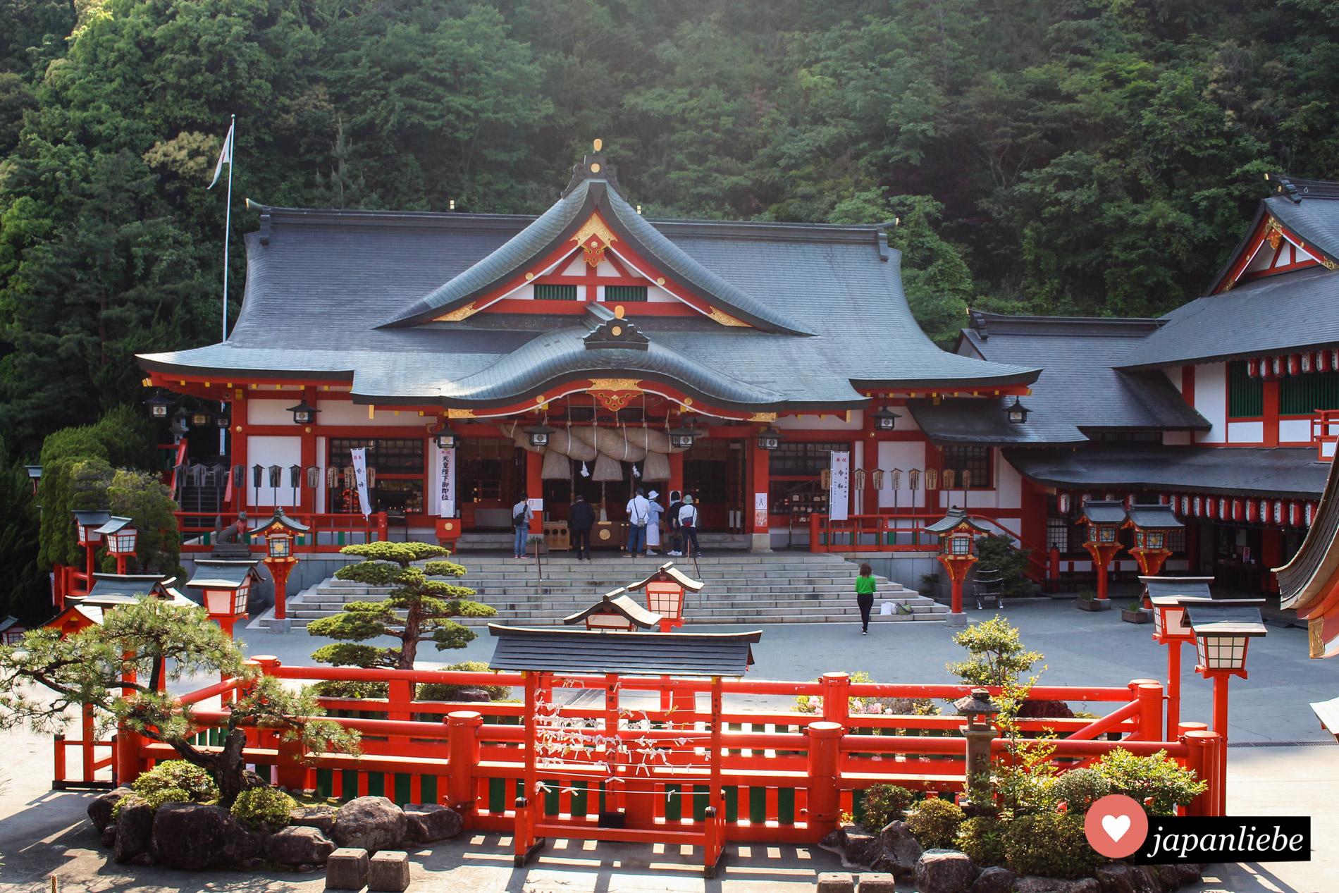 Der Taikodani-Inari-jinja ist einer der wichtigsten Inri-Schreine des Landes.