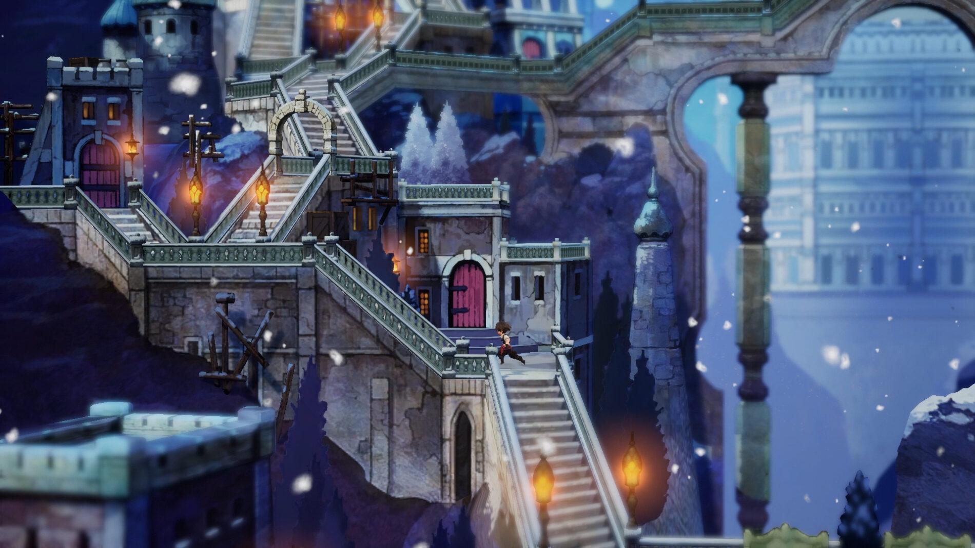 Das Schneekönigreich Rimedahl. (Foto: Nintendo)