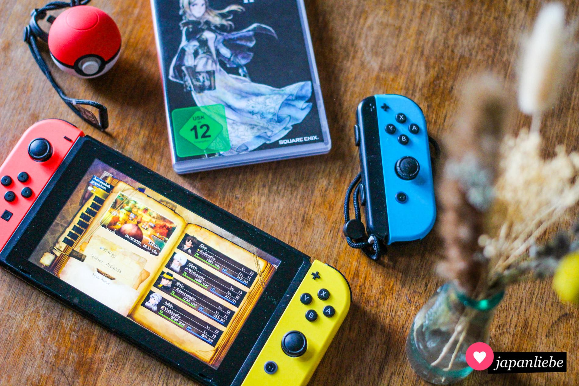 """""""Bravely Default II"""" für Nintendo Switch."""