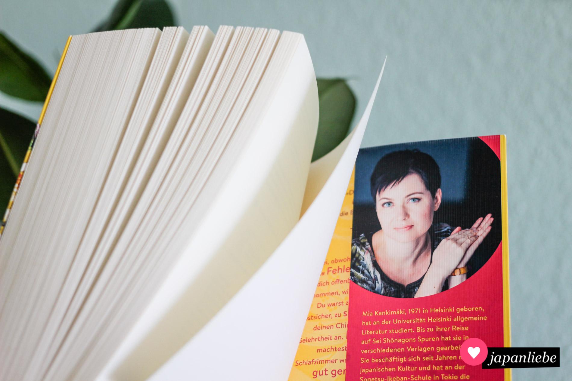 """Die Finnin Mia Kankimäki ist für """"Dinge, die das Herz höher schlagen lassen"""" ihrem Bauchgefühl gefolgt und für ein paar Monate nach Kyōto gezogen."""