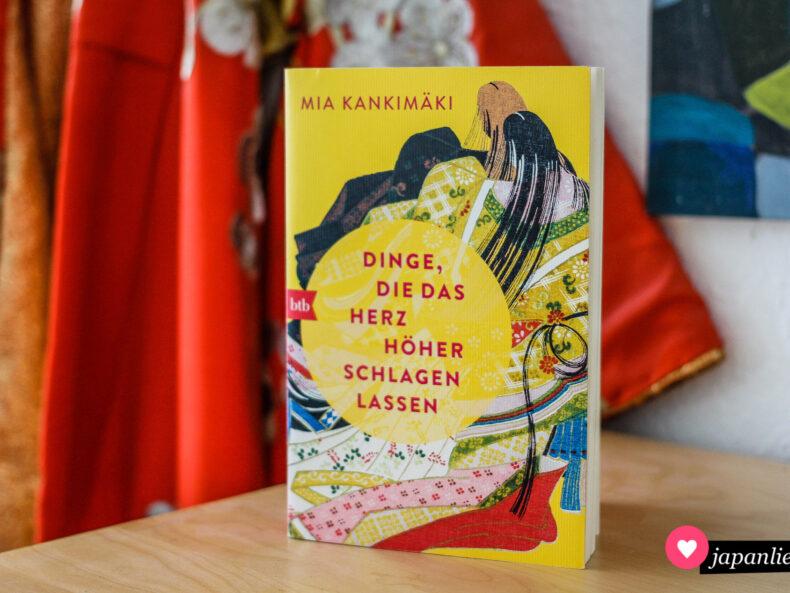 """""""Dinge, die das Herz höher schlagen lassen"""" von Mia Kankimäki ist im btb-Verlag auf Deutsch erschienen."""