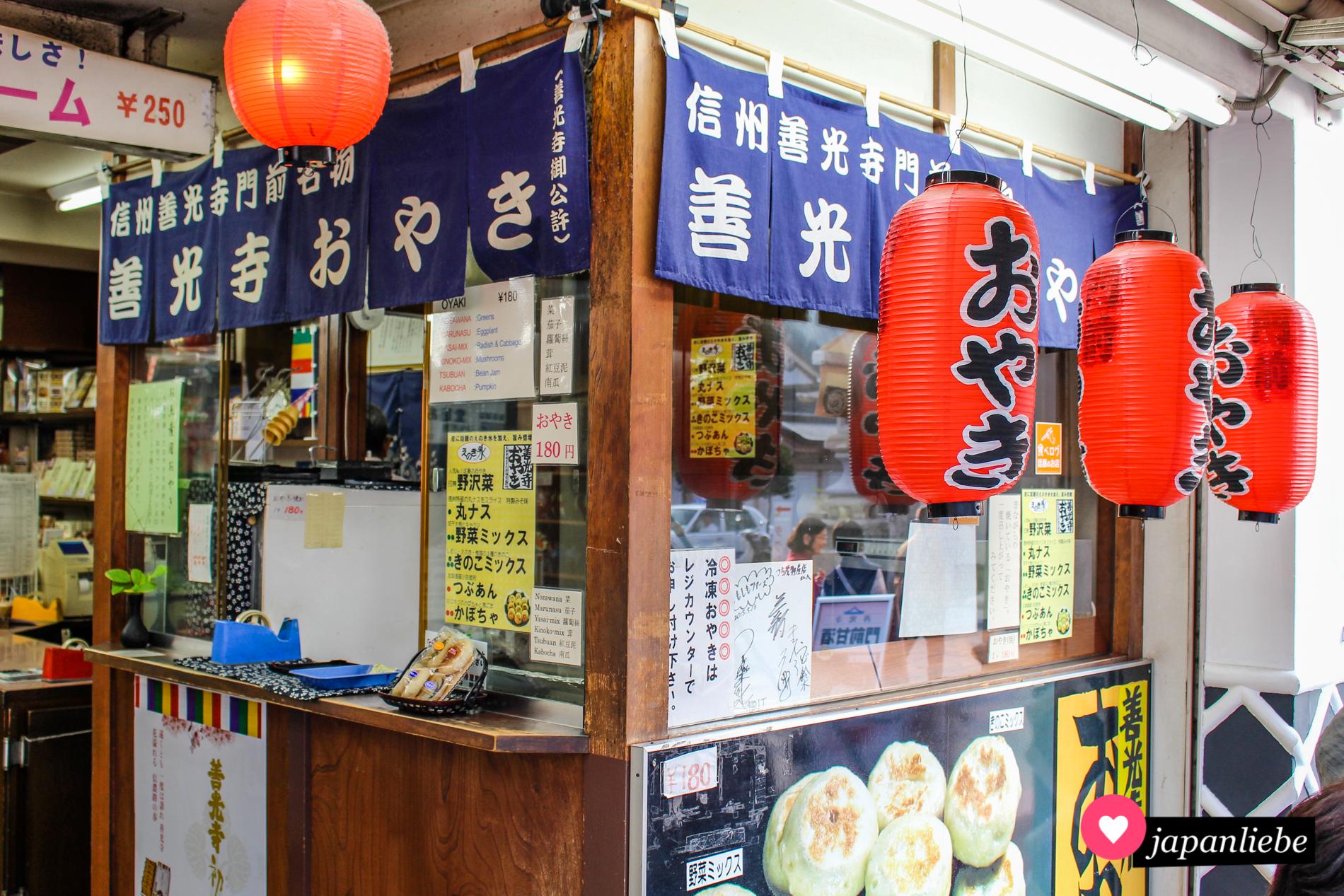 Gefüllte Teigtaschen sind eine Spezialität in Nagano.