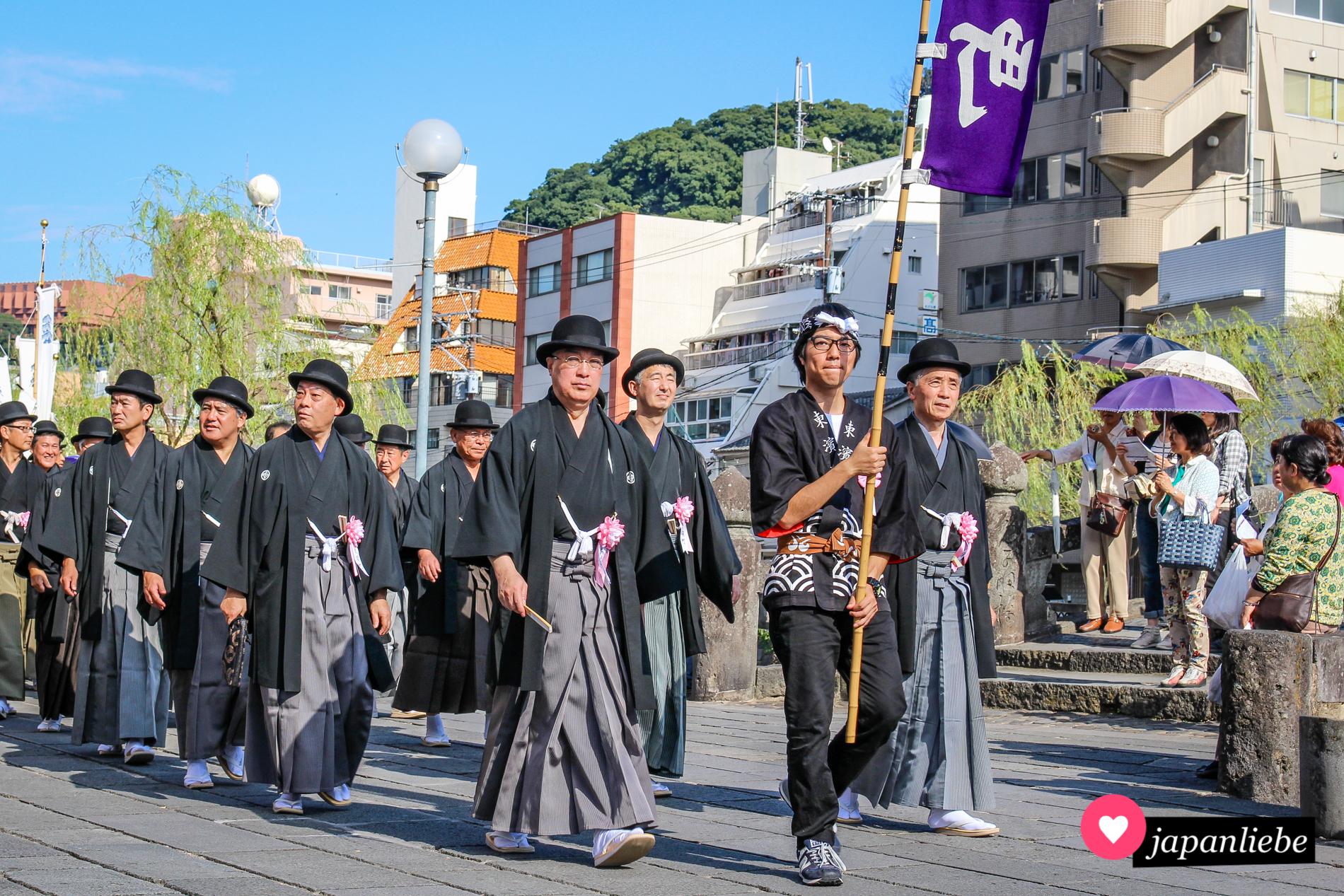 Unterschiedlichste Einflüsse zeigen sich beim Nagasaki Kunchi.